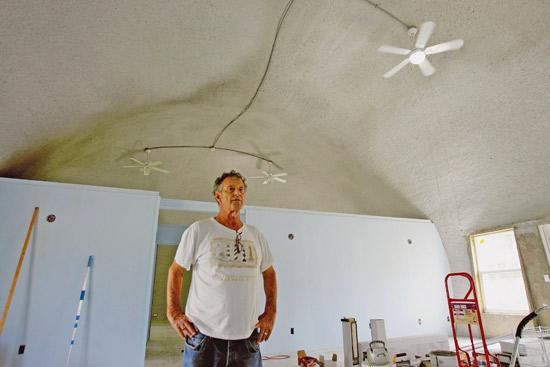 Dome home - interior