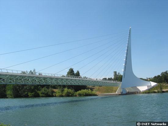 Sundial Bridge full on
