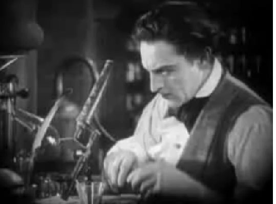 Barrymore as Dr. Jekyll