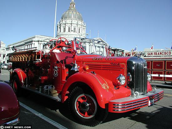 1949 gas-powered fire engine