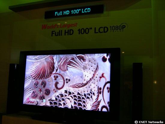 LG.Philips 100-inch screen