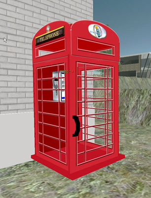 Virtual phone booth