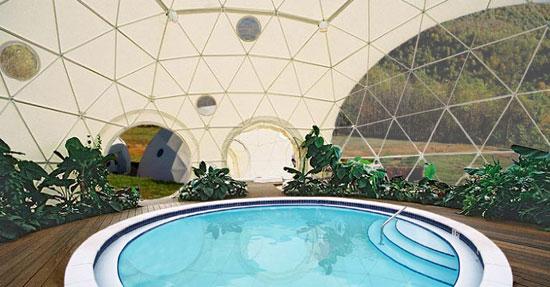 Dome pool