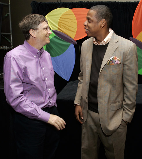 Gates and Jay-Z