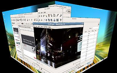 Virtual cube