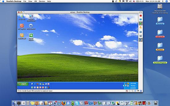XP meets Mac OS X