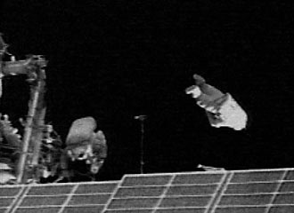 SuitSat-1 launch