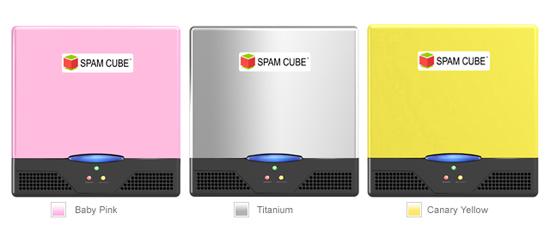 Spam Cube