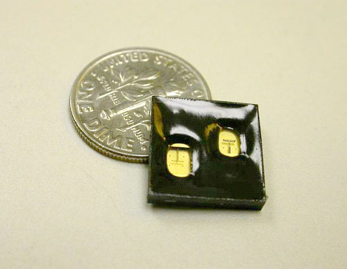 Photo: IBM's wireless superchip