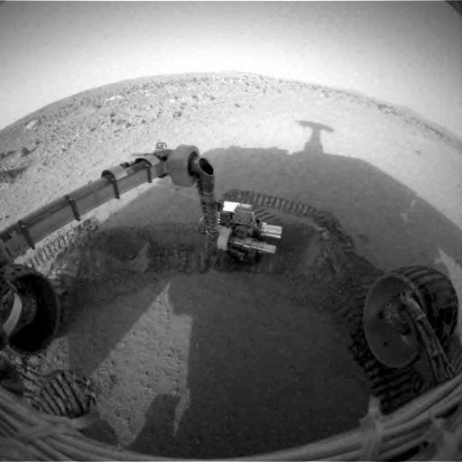 shadow on Mars