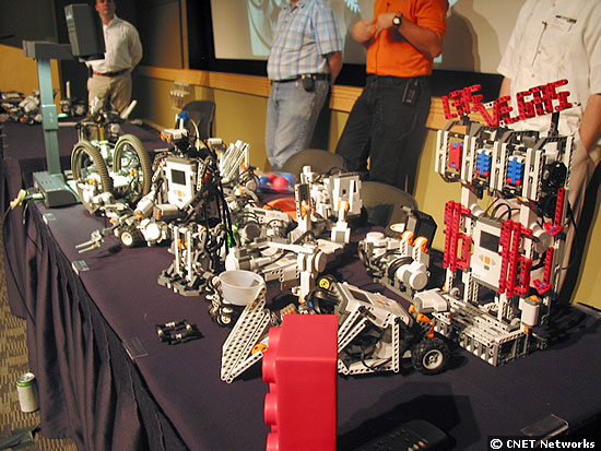 Table of robots