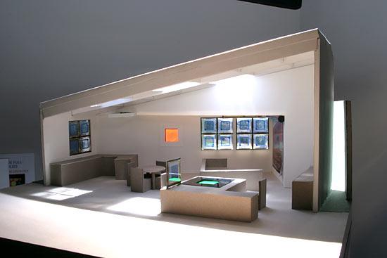 Room with OLED lighting
