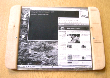 Roll-up laptop