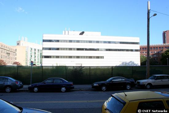 site of future lab building
