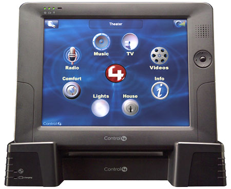 Control4 Wireless Touch Screen