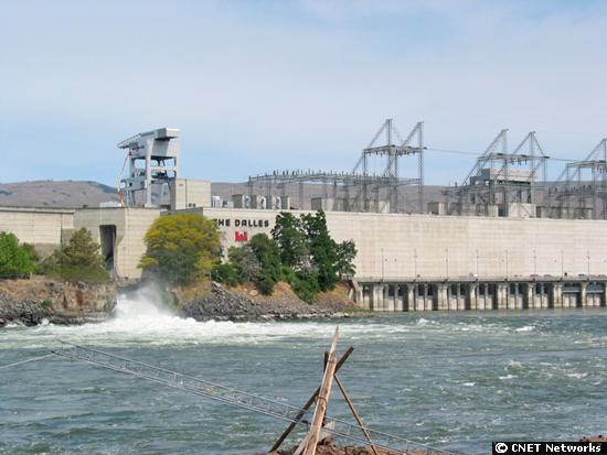 The dam, hydro power