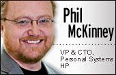 Phil McKinney, Hewlett-PAckard