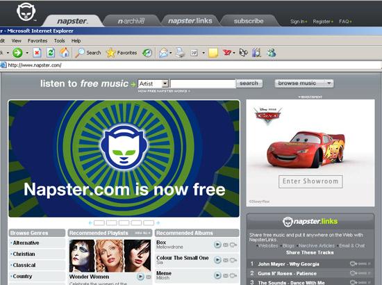 Napster free