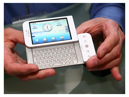 The first Android phone