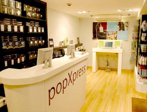 PopXpress interior
