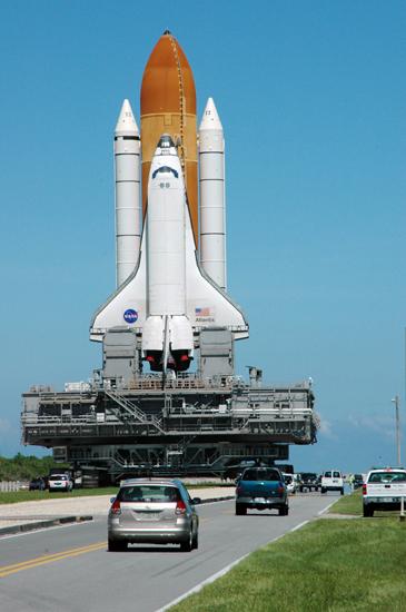 Shuttle returns