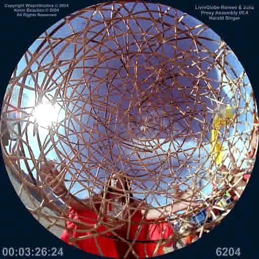 Art created for planetarium domes