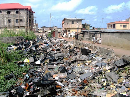 Electronic scrap in Lagos