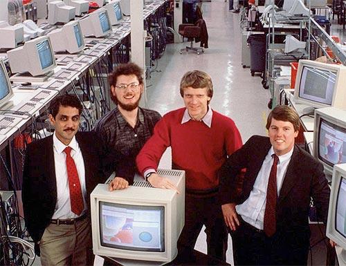 Sun's leaders in 1982...