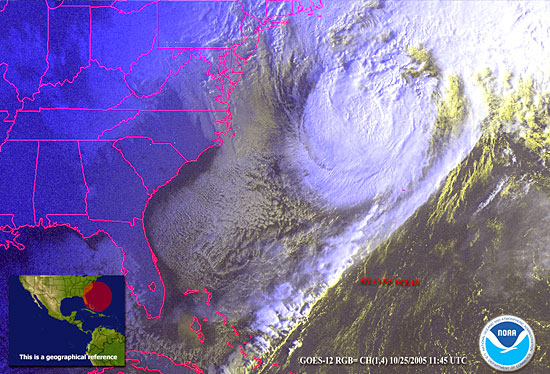Wilma heads north