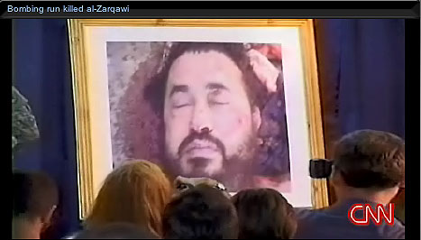 Al-Zarqawi photo on CNN