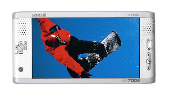 7-inch screen