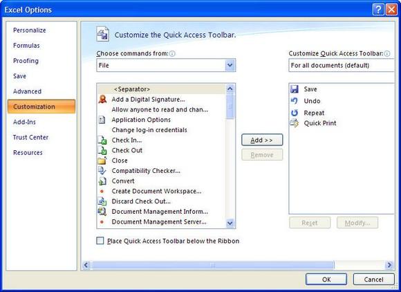 Excel 2007 Beta 2
