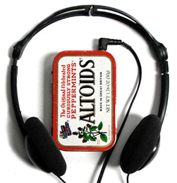 Altoids MP3 player