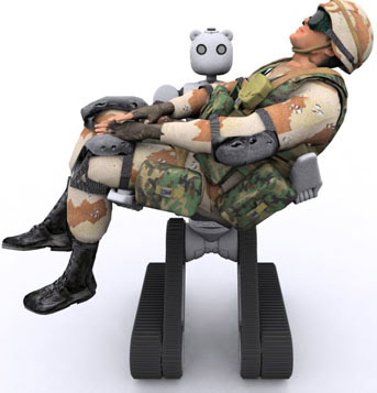 Vecna Bear, with soldier