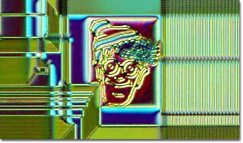Chip art: Waldo