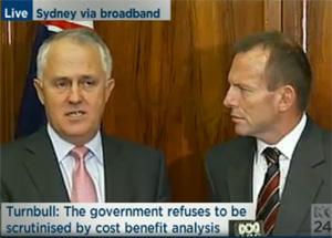 Turnbull and Abbott