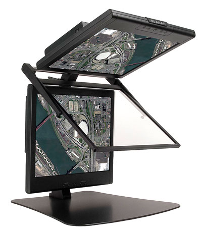 Photo: Planar's 3D monitor