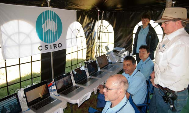 CSIRO team