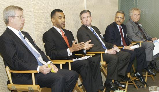 CEOs at IBM event