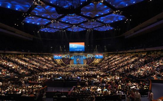 Houston's Lakewood Church