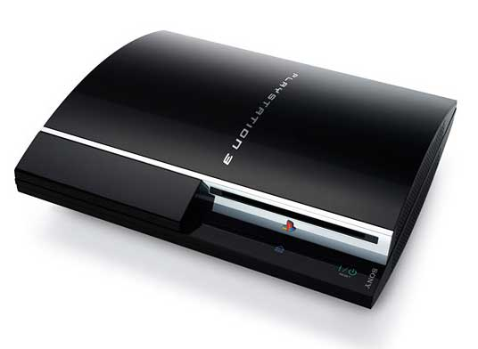 PS3 top view
