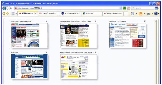 Image: Quick Tabs