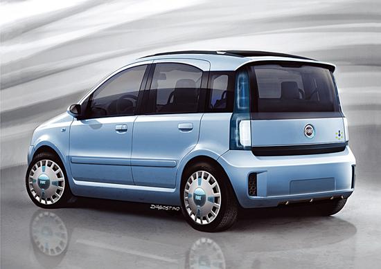 Multipla Multi-Eco rear