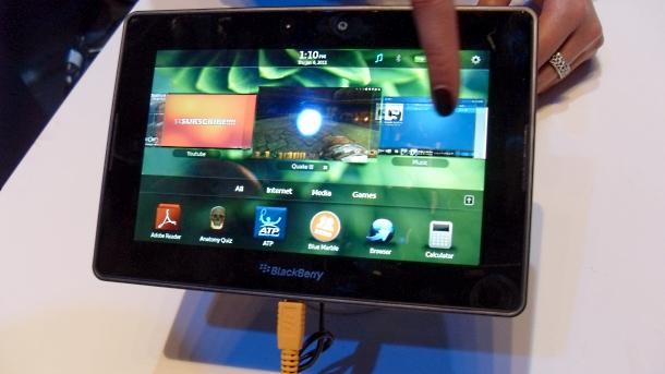 BlackBerry PlayBook tablet SDK
