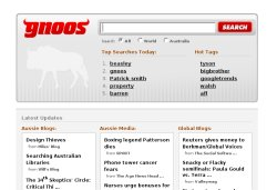 the gnoos search engine