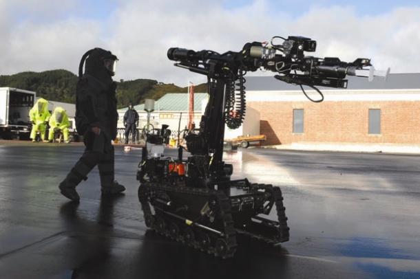 New Zealand robot image