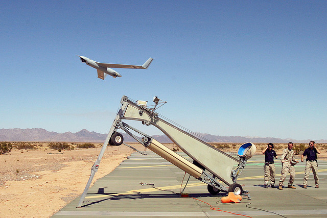ScanEagle launch, credit: Marion Doss