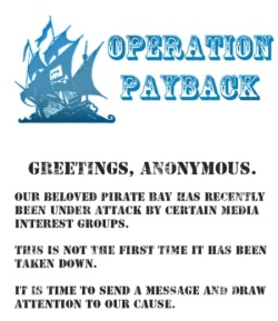 Operation Payback flyer image