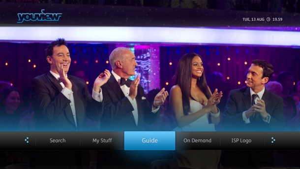 YouView interface image