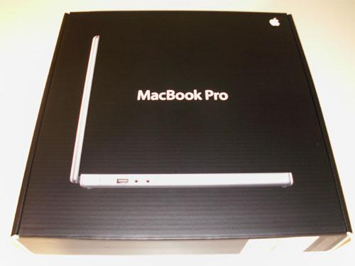 MacBook Pro: Inner box